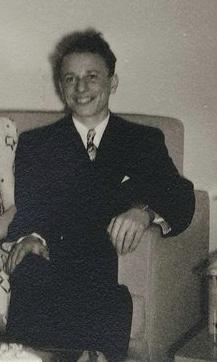 Martin Spett, Bronx, NY. 1947.